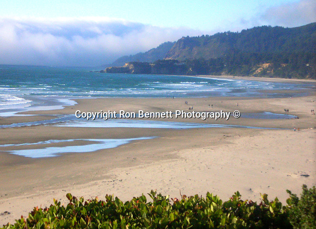 """Beach fog rolls in Pacific Ocean Oregon, Oregon Coast, coastline, Pacific coast, shoreline, sea cliffs, beaches, stacks, Pacific Northwest, Pacific Ocean, Fine art Photography and Stock Photography by Ronald T. Bennett Photography ©, FINE ART and STOCK PHOTOGRAPHY FOR SALE, CLICK ON  """"ADD TO CART"""" FOR PRICING."""