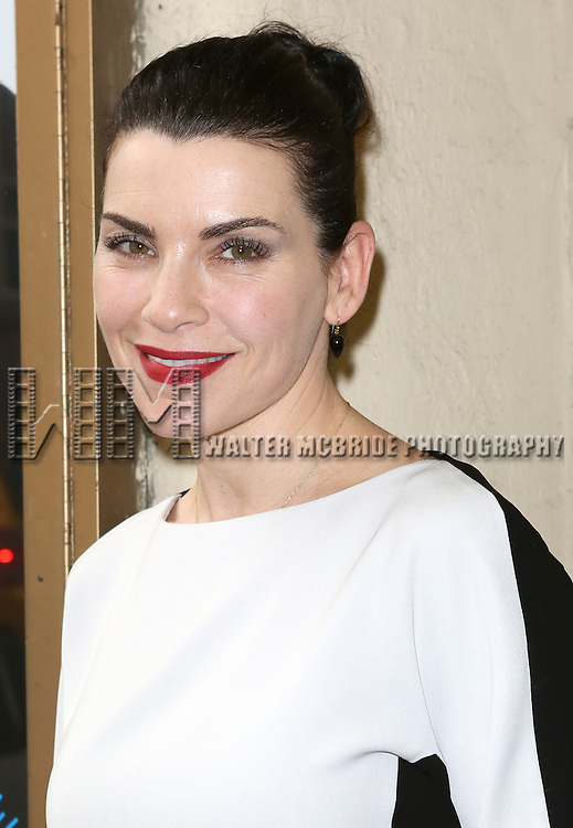 Julianna Margulies attending the Opening Night Performance of the MCC Theater's Production of 'Reasons To Be Happy' at the Lucille Lortel Theatre in New York City on June 11, 2013
