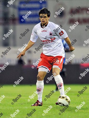 2010-09-04 / Voetbal / seizoen 2010-2011 / R. Antwerp FC / Emmerik de Vriese..Foto: Mpics