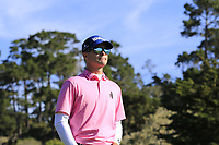 Kevin Streelman (USA) walks off the 6th tee during Sunday's Final Round of the 2018 AT&amp;T Pebble Beach Pro-Am, held on Pebble Beach Golf Course, Monterey,  California, USA. 11th February 2018.<br /> Picture: Eoin Clarke | Golffile<br /> <br /> <br /> All photos usage must carry mandatory copyright credit (&copy; Golffile | Eoin Clarke)