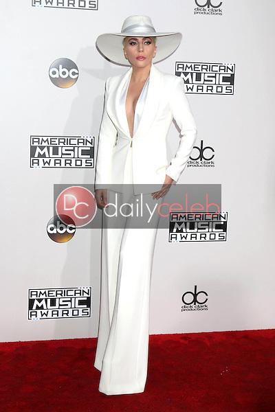 Lady Gaga<br /> at the 2016 American Music Awards, Microsoft Theater, Los Angeles, CA 11-20-16<br /> David Edwards/DailyCeleb.com 818-249-4998