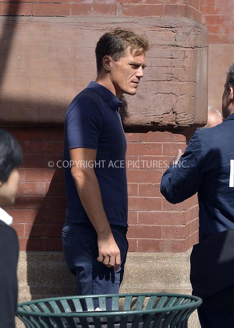 WWW.ACEPIXS.COM<br /> <br /> September 25 2013, New York City<br /> <br /> Actor Michael Shannon walks in Soho on September 25 2013 in New York City<br /> <br /> By Line: Curtis Means/ACE Pictures<br /> <br /> <br /> ACE Pictures, Inc.<br /> tel: 646 769 0430<br /> Email: info@acepixs.com<br /> www.acepixs.com
