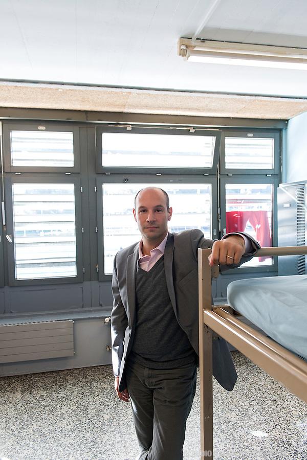 Jimmy Ferro, Chiasso, Responsible for the asylum seeker center