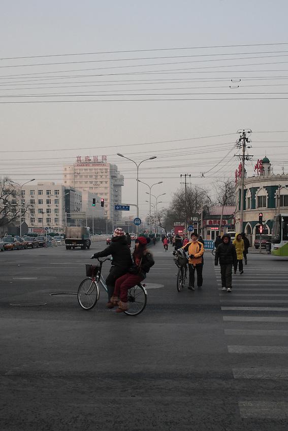 Pékin sud, Niujie, près de la Grande mosquée.