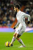 Real Madrid´s Isco during 2014-15 La Liga match between Real Madrid and Sevilla at Santiago Bernabeu stadium in Alcorcon, Madrid, Spain. February 04, 2015. (ALTERPHOTOS/Luis Fernandez) /NORTEphoto.com