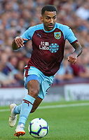 Burnley's Aaron Lennon<br /> <br /> Photographer Alex Dodd/CameraSport<br /> <br /> UEFA Europa League - Europa League Qualifying Round 2 2nd Leg - Burnley v Aberdeen - Thursday 2nd August 2018 - Turf Moor - Burnley<br />  <br /> World Copyright © 2018 CameraSport. All rights reserved. 43 Linden Ave. Countesthorpe. Leicester. England. LE8 5PG - Tel: +44 (0) 116 277 4147 - admin@camerasport.com - www.camerasport.com