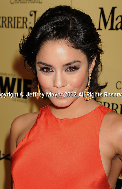LOS ANGELES, CA - FEBRUARY 24: Vanessa Hudgens attends the 5th Annual Women In Film Pre-Oscar Party at Cecconi's Restaurant on February 24, 2012 in Los Angeles, California.