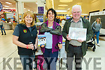 Tralee Mountaineer Clubs Monica Dillane and Isabel Jorvan with Mike Carroll of Castlemaine in the Manor West Shopping Centre and Retail Park hosting Kerry's local community organisations for its 'Community on Your Doorstep' exhibition on Saturday.