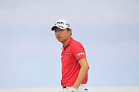 Jeunghun Wang (KOR) on the 6th tee during Round 3 of the Dubai Duty Free Irish Open at Ballyliffin Golf Club, Donegal on Saturday 7th July 2018.<br /> Picture:  Thos Caffrey / Golffile