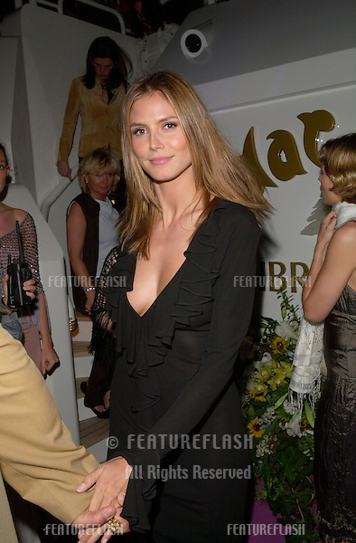 17MAY2000:  Supermodel HEIDI KLUM at a party for Victoria's Secret models on a private yacht in Cannes..© Paul Smith/Featureflash