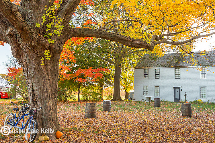 The farmhouse at the Spencer-Peirce-Little Farm, Newbury, Essex National Heritage Area, Newburyport, Massachusetts, USA