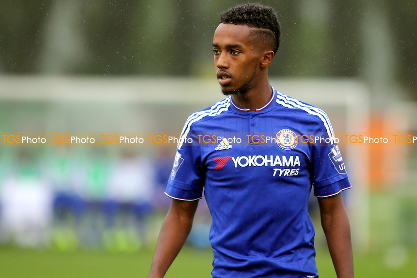 Mukhtar Ali of Chelsea during Chelsea U19 vs Maccabi Tel Aviv U19