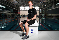 Liam Stone, diving. Swimming New Zealand Gold Coast Commonweath Games Team Announcement, Owen G Glenn National Aquatic Centre, Auckland, New Zealand,Friday 22 December 2017. Photo: Simon Watts/www.bwmedia.co.nz