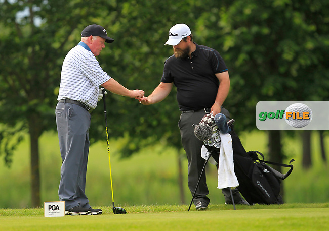during Round 2 of the Titleist &amp; Footjoy PGA Professional Championship at Luttrellstown Castle Golf &amp; Country Club on Wednesday 14th June 2017.<br /> Photo: Golffile / Thos Caffrey.<br /> <br /> All photo usage must carry mandatory copyright credit     (&copy; Golffile | Thos Caffrey)