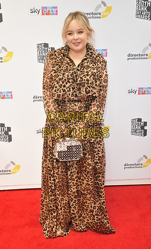 Nicola Coughlan at the South Bank Sky Arts Awards 2019, The Savoy Hotel, The Strand, London, England, UK, on Sunday 07th July 2019.<br /> CAP/CAN<br /> ©CAN/Capital Pictures