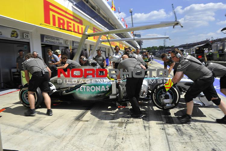 25. - 28.07.2013, Hungaroring, Budapest, HUN, F1, Grosser Preis von Ungarn, Hungaroring, im Bild  Nico Rosberg (GER), Mercedes GP <br />  Foto &not;&copy; nph / Mathis