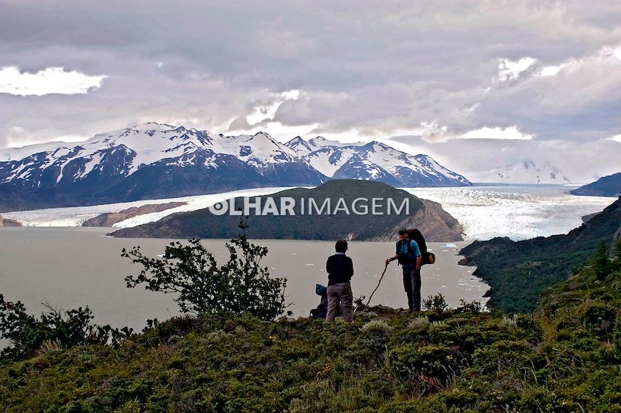 Glaciar Grey no Parque Nacional Torres del Paine. Chile. 2004. Foto de Maristela Colucci.