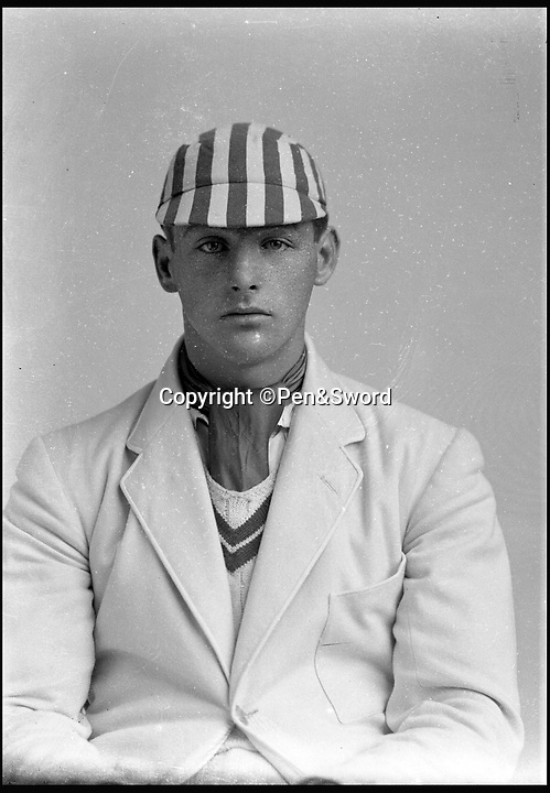 BNPS.co.uk (01202 558833)<br /> Pic: Pen&Sword/BNPS<br /> <br /> Right hand bat and wicket keeper Major Robin Evelyn Whetherly played in eleven first class matches, he served in the Royal Armoured Corps<br />