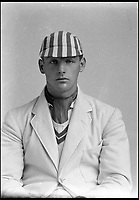 BNPS.co.uk (01202 558833)<br /> Pic: Pen&amp;Sword/BNPS<br /> <br /> Right hand bat and wicket keeper Major Robin Evelyn Whetherly played in eleven first class matches, he served in the Royal Armoured Corps<br />