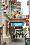 Theatre Marquee unveiled for 'The Performers' starring.Henry Winkler, Cheyenne Jackson, Daniel Breaker, Alicia Silverstone & Jenni Barber  The Longacre Theatre , New York City on 9/21/2012.