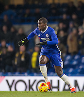 Kurt Zouma of Chelsea in action during the The Checkatrade Trophy match between Chelsea U23 and Oxford United at Stamford Bridge, London, England on 8 November 2016. Photo by Andy Rowland.