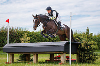 AUS-Sam Griffiths rides Annaghmore Valoner during the Cross Country for the Novice Section E. Final-9th. 2019 GBR-Barbury Castle International Horse Trial. Wiltshire, Great Britain. Friday 5 July. Copyright Photo: Libby Law Photography