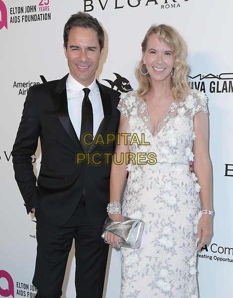04 March 2018 - West Hollywood, California - Eric McCormack, Janet Holden. 26th Annual Elton John Academy Awards Viewing Party held at West Hollywood Park. <br /> CAP/ADM/PMA<br /> &copy;PMA/ADM/Capital Pictures