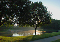 Morning at Lincoln Park Lake, Kettering, Ohio