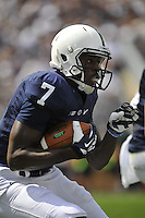 07 September 2013:  Penn State WR/KR Eugene Geno Lewis (7). The Penn State Nittany Lions defeated the Eastern Michigan Eagles 45-7 at Beaver Stadium in State College, PA.