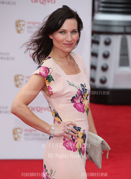 Kate Fleetwood arriving for the TV BAFTA Awards 2013, Royal Festival Hall, London. 12/05/2013 Picture by: Alexandra Glen / Featureflash