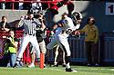 30 October 2010: Missouri running back De'Vion Moore (26) rushes over left end for a touchdown in the second quarter against the Nebraska Cornhuskers at Memorial Stadium in Lincoln, Nebraska. Nebraska defeated Missouri 31 to 17.