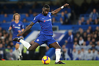 Antonio Rudiger of Chelsea in action during Chelsea vs Crystal Palace, Premier League Football at Stamford Bridge on 4th November 2018