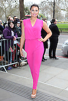 Jessica Wright arriving for the TRIC Awards 2014, at Grosvenor House Hotel, London. 11/03/2014 Picture by: Alexandra Glen / Featureflash