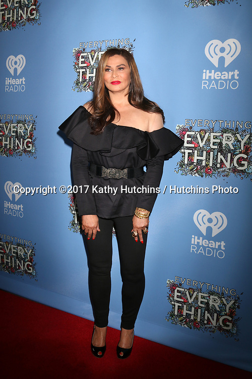 "LOS ANGELES - MAY 6:  Tina Knowles at the ""Everything, Everything"" Premiere on the TCL Chinese 6 Theater on May 6, 2017 in Los Angeles, CA"