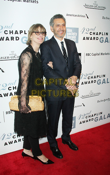 April 27,  2015: Katherine Borowitz, John Turturro at Film Society Lincoln Center presents 42nd Chaplin Award Gala  at Alice Tully Hall Lincoln Center in New York. <br /> CAP/MPI/RW<br /> &copy;RW/MPI/Capital Pictures