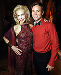 Lynn Wyatt and her dance partner Oliver Halkowich at the Dancing with the Houston Stars event benefitting the Houston Ballet at the home of John and Becca Thrash  Friday Sept. 24, 2010. (Dave Rossman/For the Chronicle)