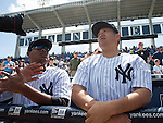 Ivan Nova, Masahiro Tanaka (Yankees),<br /> MARCH 4, 2015 - MLB : Ivan Nova (L) and Masahiro Tanaka of the New York Yankees are seen during a spring trainig baseball game against the Philadelphia Phillies at George M. Steinbrenner Field in Tampa, Florida, United States. (Photo by Thomas Anderson/AFLO) (JAPANESE NEWSPAPER OUT)