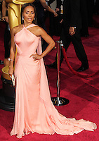 HOLLYWOOD, LOS ANGELES, CA, USA - MARCH 02: Jada Pinkett Smith at the 86th Annual Academy Awards held at Dolby Theatre on March 2, 2014 in Hollywood, Los Angeles, California, United States. (Photo by Xavier Collin/Celebrity Monitor)