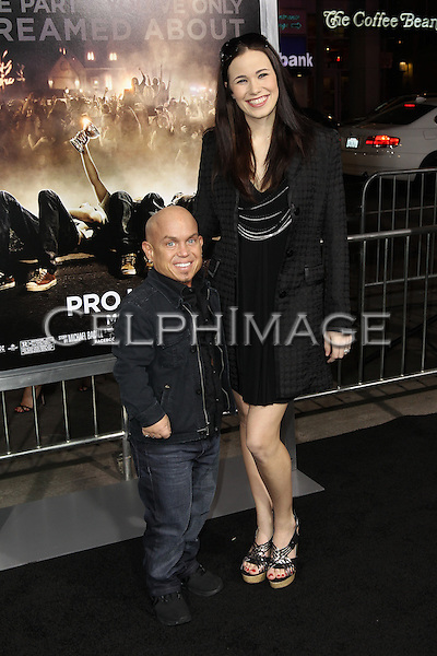 """MARTIN KLEBBA, MICHELLE DILGARD KLEBBA. Los Angeles Premiere of Warner Brothers Pictures' """"Project X,"""" at Grauman's Chinese Theatre. Hollywood, CA USA. February 29, 2011.©CelphImage"""