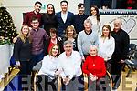 Mike Sweeney, seated front centre, with his family as he retires as Principal of Scoil Naisiúnta Uaimh Bhreannain(O'Brennan National School), Kielduff.
