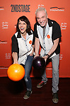 Paige Davis and Patrick Page attends The Second Stage Theater's  32nd Annual All-Star Bowling Classic at the Lucky Strike on February 11, 2019 in New York City.
