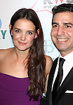 Katie Holmes and her lawyer Jonathan W. Wolfe attending the Broadway Dreams Foundation's 'Champagne & Caroling Gala' at Celsius at Bryant Park, New York on December 10, 2012