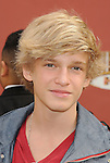 "Universal City, CA - March 27: Cody Simpson arrives at the Los Angeles premiere of ""Hop"" at Universal Studios Hollywood on March 27, 2011 in Universal City, California."