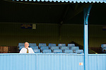 St Albans 0 Watford 5, 26/07/2014. Clarence Park, Pre Season Friendly. Pre Season friendly between St Albans City and Watford from Clarence Park Stadium. A St Albans City director takes his seat for the game. Watford won the game 5-0. Photo by Simon Gill.