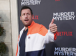 "Adam Sandler 126 arrives at the LA Premiere Of Netflix's ""Murder Mystery"" at Regency Village Theatre on June 10, 2019 in Westwood, California"