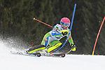 10.03.2018, Ofterschwanger Horn, Ofterschwang, GER, Slalom Weltcup in Ofterschwang, im Bild Marusa Ferk (SLO, #23)<br /> <br /> Foto &copy; nordphoto / Hafner