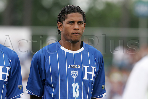 28 June 2009: Carlos Costly (HON). The Honduras Men's National Team played the Panama Men's National Team at the WakeMed Stadium in Cary, North Carolina in an international friendly soccer game.(Photo: Andy Mead/ActionPlus) UK Licenses Only