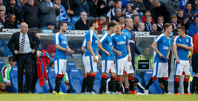 Rangers bring on a couple of subs