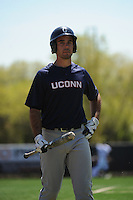 University of Connecticut Huskies outfielder Billy Ferriter (7) during game against the Rutgers University Scarlet Knights at Bainton Field on May 3, 2013 in Piscataway, New Jersey. Connecticut defeated Rutgers 3-1.      . (Tomasso DeRosa/ Four Seam Images)