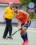 DEN HAAG - Valentin Verga tijdens de trainingswedstrijd Nederland-Argentinie (1-2). COPYRIGHT KOEN SUYK
